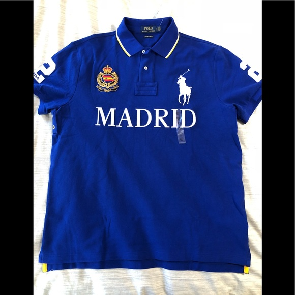 5338dd37 Polo by Ralph Lauren Shirts | Ralph Lauren Polo Madrid Big Pony ...